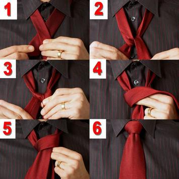 How to tie a tie screenshot 2