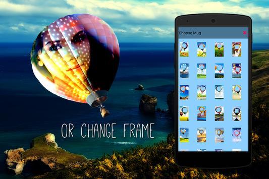 Hot Air Balloon Photo Frames apk screenshot