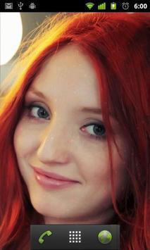 hot redheads wallpaper apk screenshot