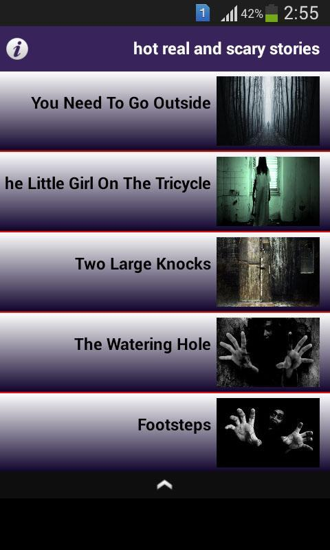 Hot real and scary stories for Android - APK Download