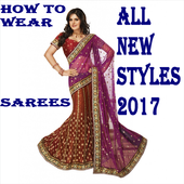 HOW TO WEAR SAREE ALL TYPES icon