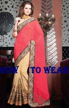 HOW TO WEAR SAREE ALL TYPES poster