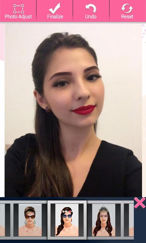 ... YouCam Makeup - Editor Selfie screenshot 5 ...