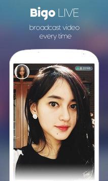 Hot Bigo Live Broadcasting App apk screenshot