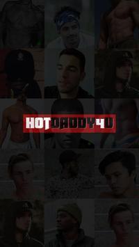 HotDaddy4U Dating App poster