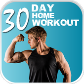 30 Day Home Workout - Fit Challenge Home Workouts icon