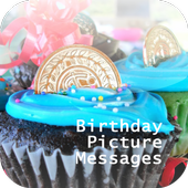 Birthday Picture Messages icon