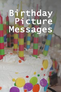 Birthday Picture Messages poster