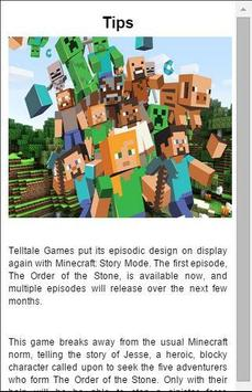Guide Minecraft: Story Mode poster