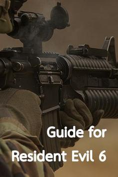 Guide for Resident Evil 6 poster