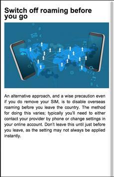 Roaming Call Alternative Guide screenshot 1