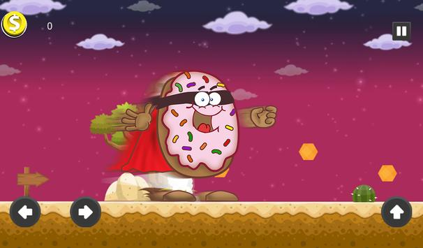 Super Hot Donut Man -  Power Run screenshot 2