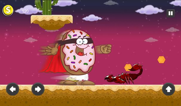 Super Hot Donut Man -  Power Run screenshot 3