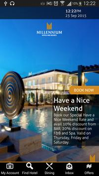 Millennium Hotels Middle East poster