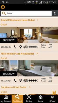 Millennium Hotels Middle East apk screenshot