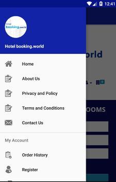 Hotel booking.world screenshot 1