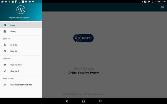 DSS Hotel System。旅館發卡系統 apk screenshot