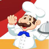 Order Now: Restaurant Waiter icon