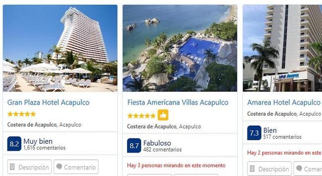 Hoteles en Acapulco screenshot 1