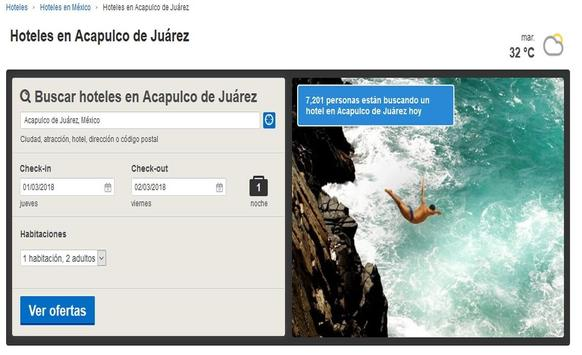 Hoteles en Acapulco screenshot 6