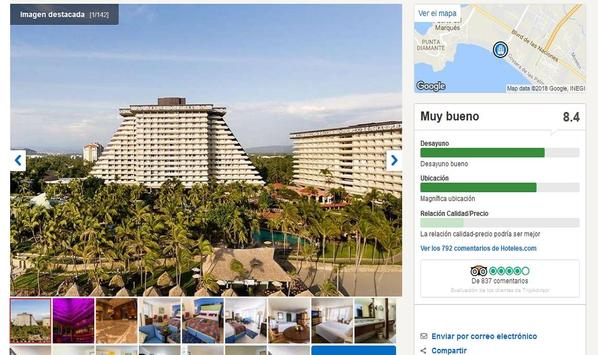 Hoteles en Acapulco screenshot 7