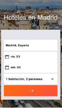 Hoteles en Madrid España poster