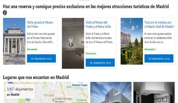 Hoteles en Madrid España screenshot 7