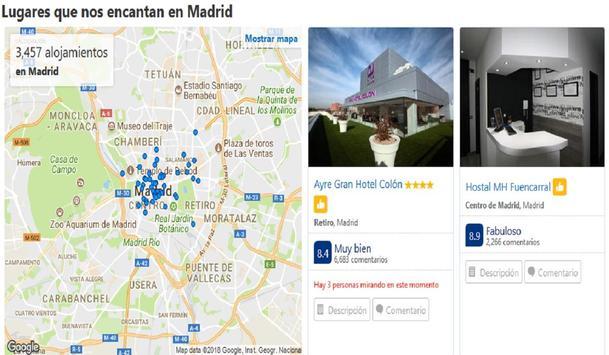 Hoteles en Madrid España screenshot 4