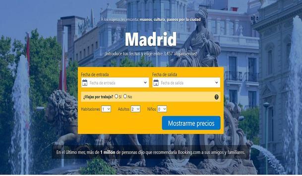 Hoteles en Madrid España screenshot 6