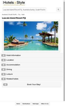 Hotels and Style apk screenshot