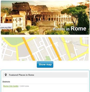 Rome Hotels screenshot 2