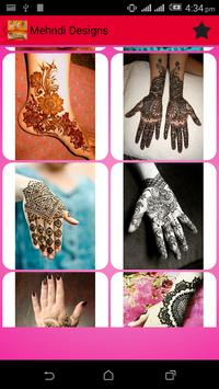 Mehndi Designs 2016 screenshot 5