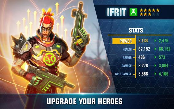 Hero Hunters apk imagem de tela