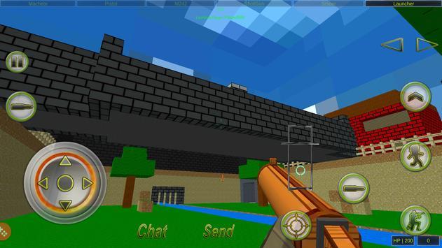 Strike Combat Pixel Online apk screenshot