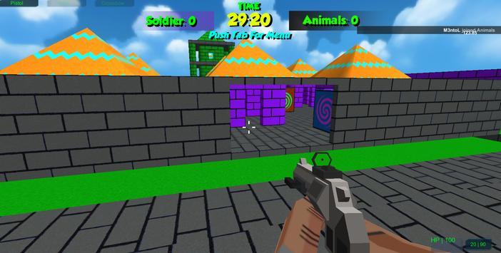 Pixel Toonfare 3D apk screenshot