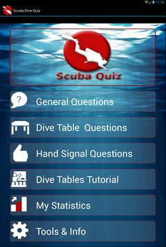 Scuba Dive Quiz screenshot 4