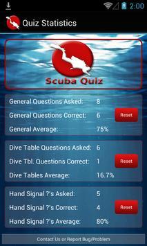 Scuba Dive Quiz screenshot 2