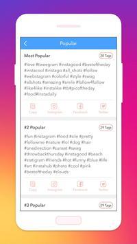 Super Likes for Instargam Tags screenshot 1