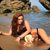 Hottest Girls Hot Beach Photos icon