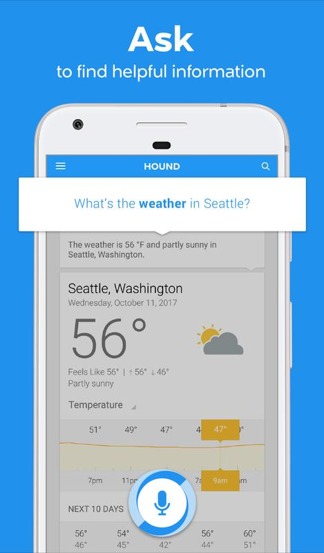 Hound voice search mobile assistant apk download free for Voice assistant italiano