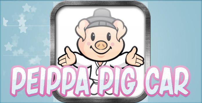 Peippa pig Car poster