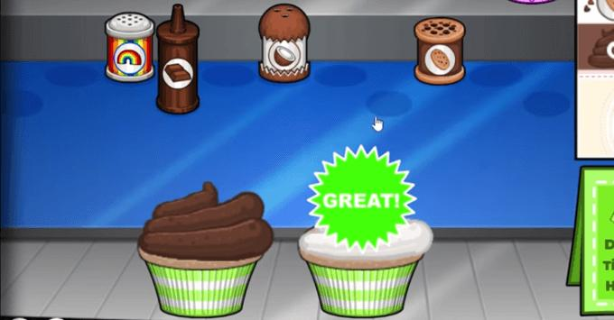 Free Papa's Cupcakeria Guide poster