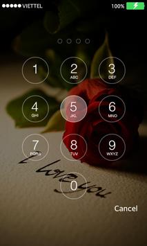 Photo Passcode Lock screen screenshot 1