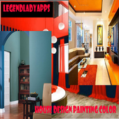 House Design Painting Color icon