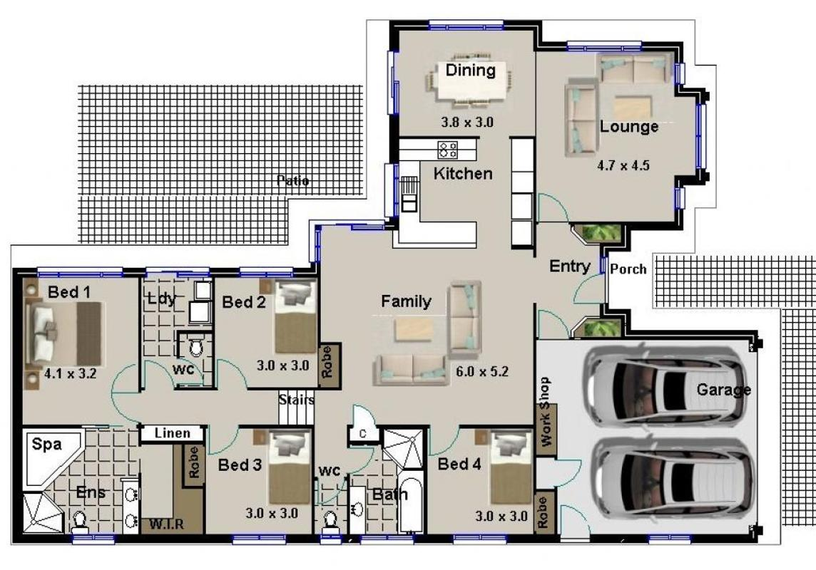 3d House Plan 4 Bedroom Apk Download Free Lifestyle