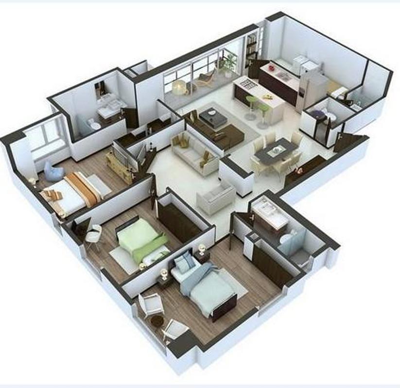 Home Design 3d 3 1 3 Apk: Planta Da Casa 3d Para Android