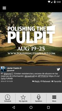 Polishing the Pulpit 2016 poster