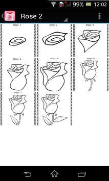 How to draw Rose screenshot 2
