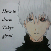 How to Draw Tokyo Ghoul icon