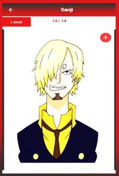 How To Draw Anime One Piece apk screenshot